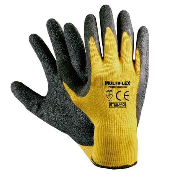 Guante multiflex latex steelpro con soporte guantes - Guantes de seguridad ...