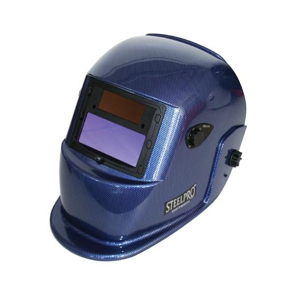 Optech mascara de soldar azul fotosensible steel pro - Mascara de soldar ...